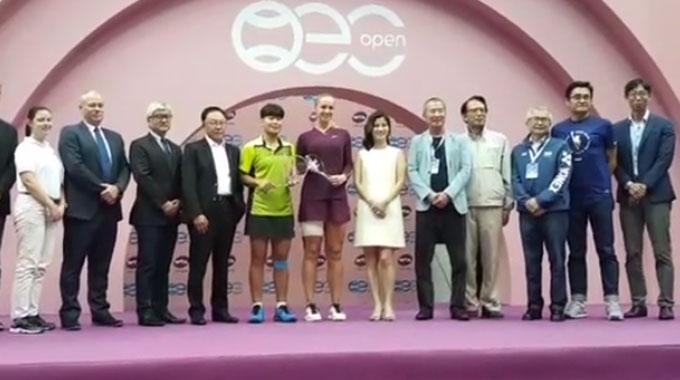 Hạ gục Lisicki, Tay vợt người Thái Lan giành chức vô địch Taipei Open