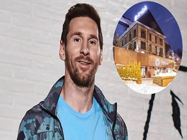 Messi mua khách sạn 4 sao hàng triệu euro