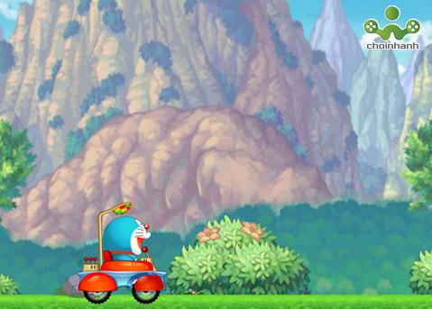 Doraemon đua xe: Trò chơi đua xe miễn phí online cực hay