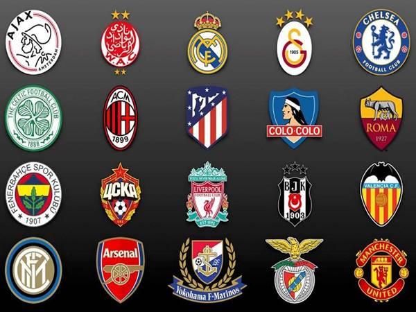 Top 7 Logo CLB bóng đá đẹp nhất và được nhiều người ưa thích