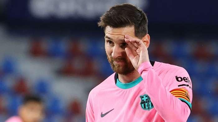 'Một bước lùi khổng lồ' - Barcelona cúi đầu khỏi cuộc đua danh hiệu khi Messi gần kết thúc