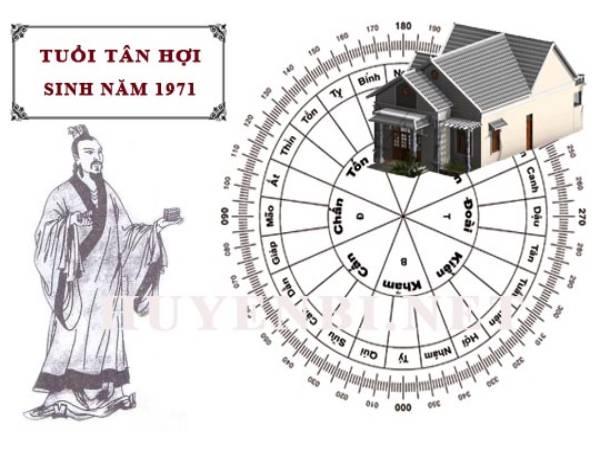 Tuổi Tân Hợi hợp hướng nào để xây nhà, trang trí nhà cửa
