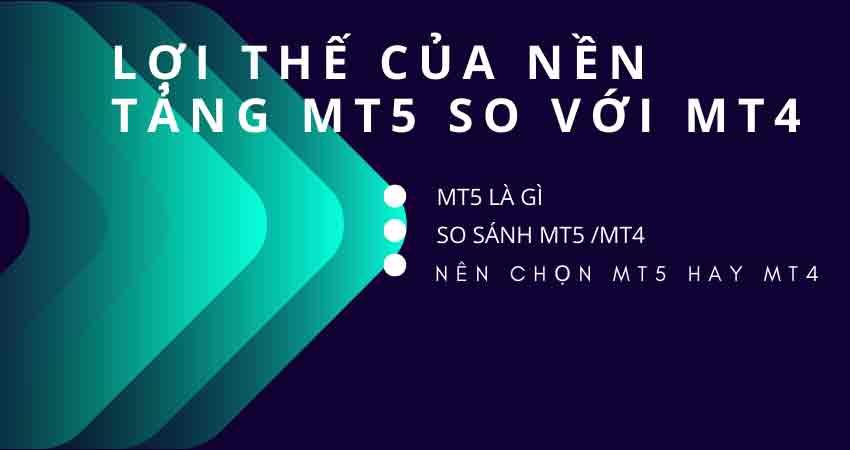 MT5 không phải là phiên bản cập nhật của MT4
