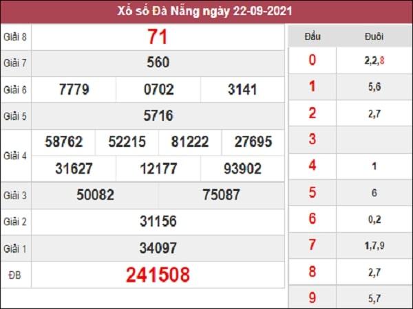 Soi Cầu XSDNG 25-09-2021